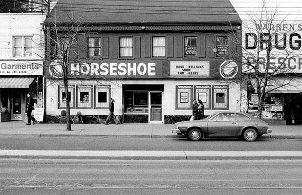 toronto horseshoe tavern