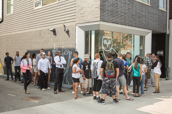 OVO Pop up Toronto