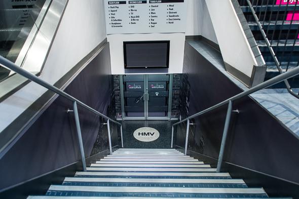 HMV Underground Toronto