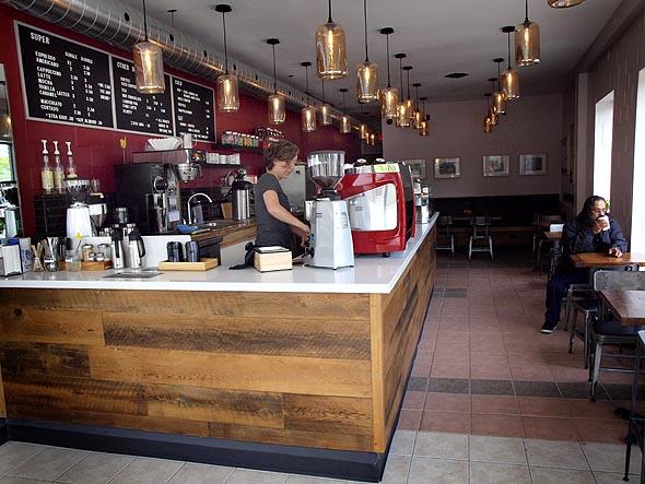 Inside Supercoffee in Mt. Dennis