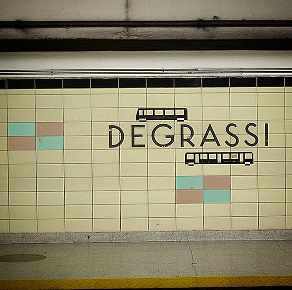 imaginary ttc subway stop