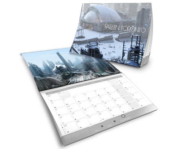 fallen toronto calendar