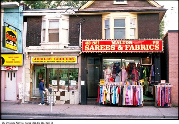 toronto little india bazaar
