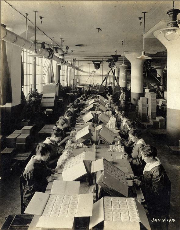 toronto colgate factory