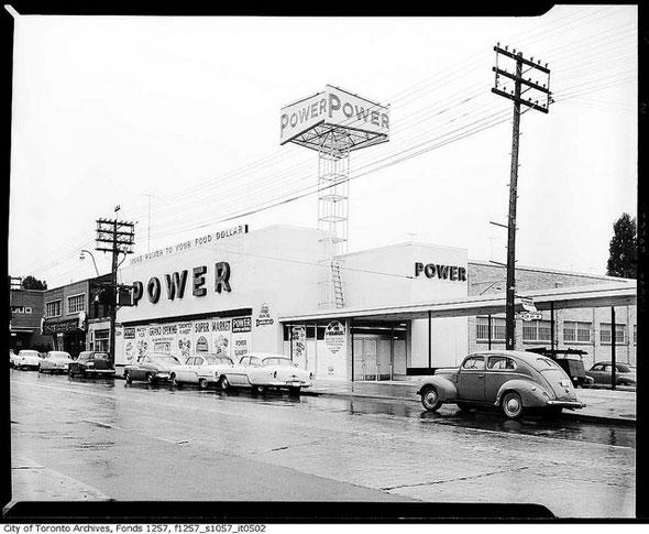 toronto 1950s