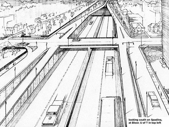toronto spadina expressway
