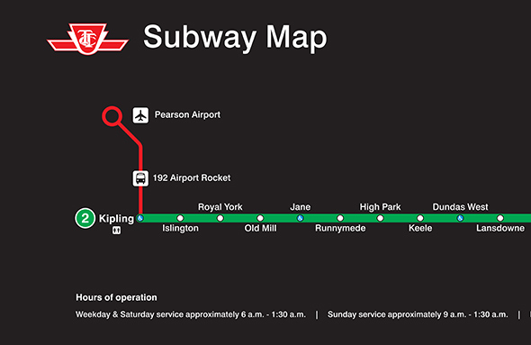 toronto pearson airport map with The Ttc Wants You To Know About Its Airport Bus on Map likewise New Reduced Fares With Up Express moreover Significant Market Access together with 307 Eglinton We in addition Decew Residence.