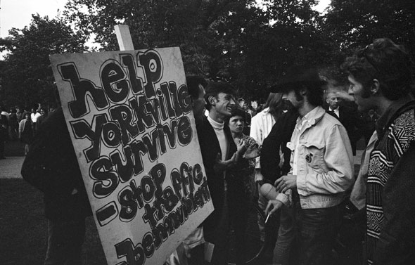 toronto yorkville protest