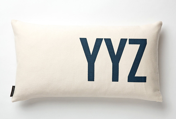 YYZ pillows