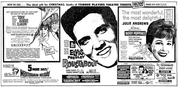toronto 1964 movies