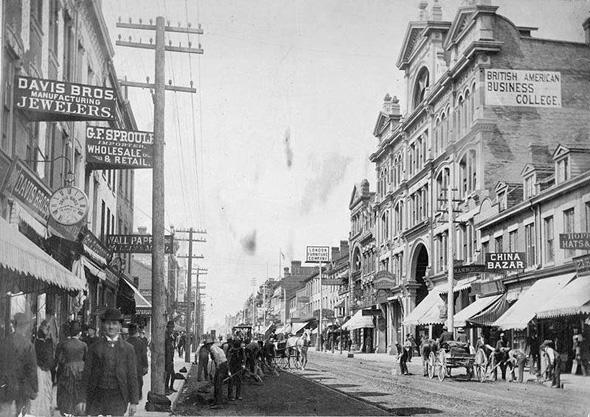 yonge street history