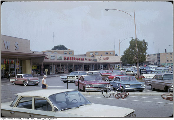 What Strip Malls Used To Look Like In Toronto