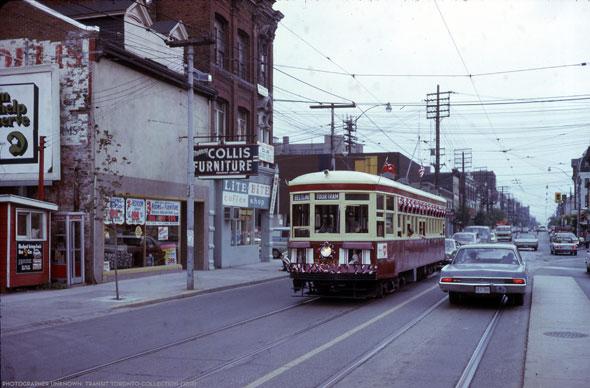 toronto belt streetcar