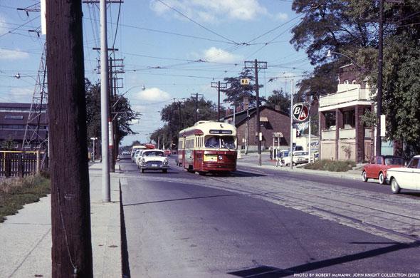 toronto harbord streetcar
