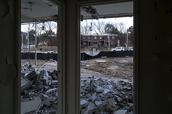 605 Whiteside Place demolition
