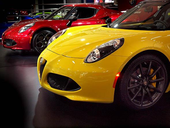 Alfa Romeo 4Cs at the CIAS