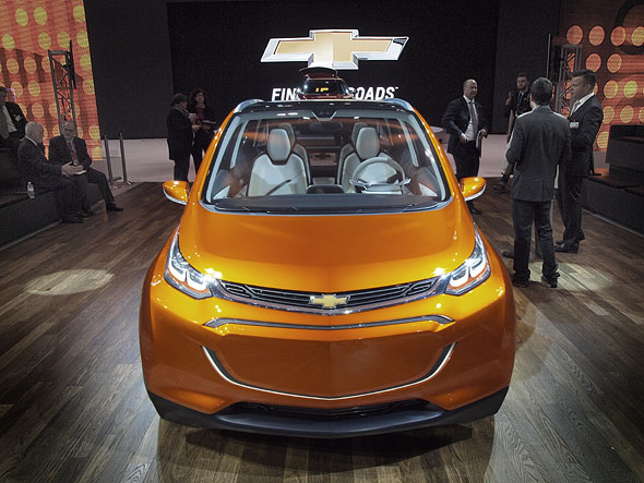 Chevy Bolt EV concept car