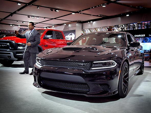 Chrysler Charger Hellcat at CIAS