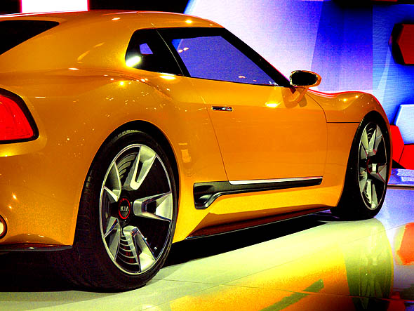 KIA GT4 Stinger concept car at CIAS