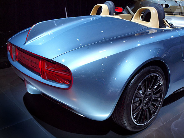 Mini's Superlegerra concept car