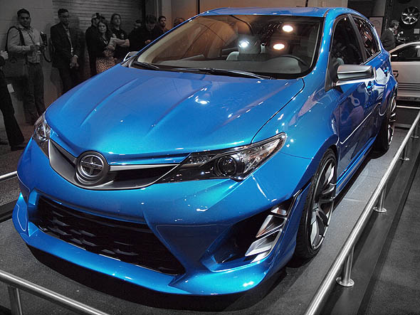 Scion's iM concept hatchback