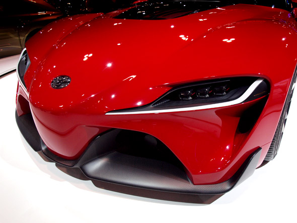 Toyota's FT-1 concept car at CIAS