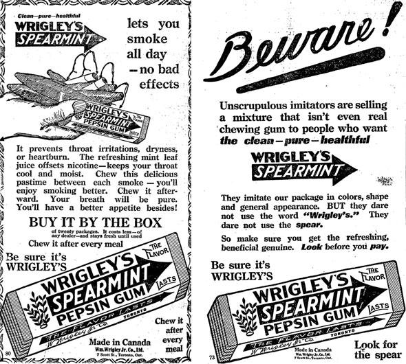 toronto wrigley gum