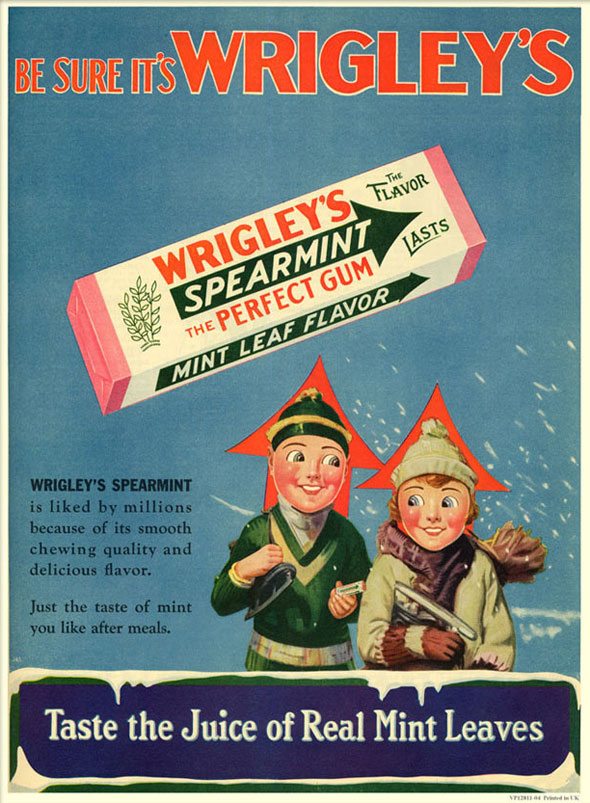 the william wrigley jr company essay La william wrigley jr  company ( nyse : wwy ) fut fondée le 11 avril   for us $ 12  5 billion to the william wrigley jr  company were removed by attorney general fisher and judge morgan .