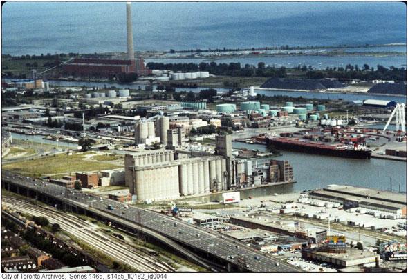 toronto victory mills silos