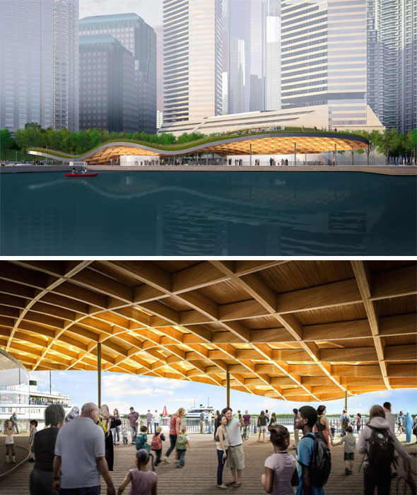 What the new jack layton ferry terminal will look like for Design consulting toronto