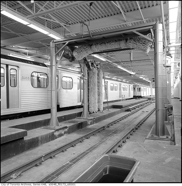 toronto greenwood subway yard