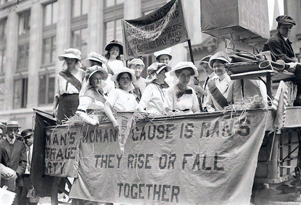 first wave feminism toronto