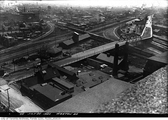 toronto junction aerial