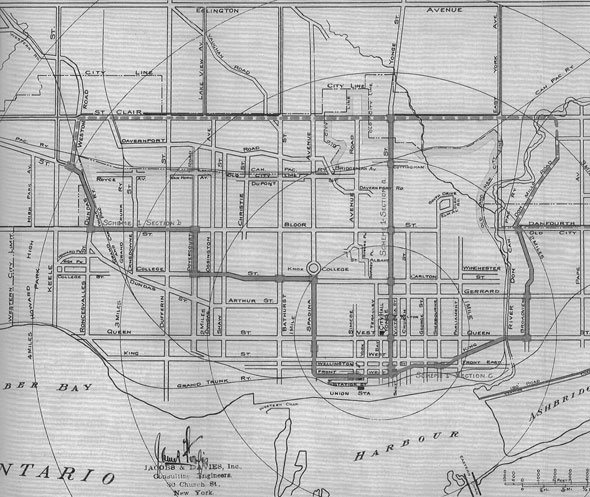 toronto 1910 subway