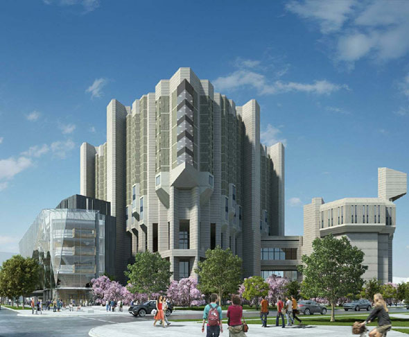 Major Addition To Robarts Library Starts To Take Shape