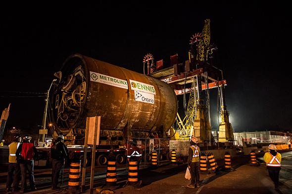 tunnel boring machines toronto