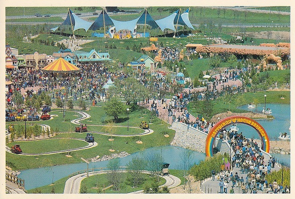 Map Of Canadas Wonderland 2017.This Is What Canada S Wonderland Looked Like In The 1980s