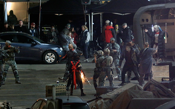 Photos Of Suicide Squad Filming In Toronto