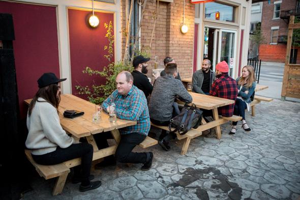 dundas west patio