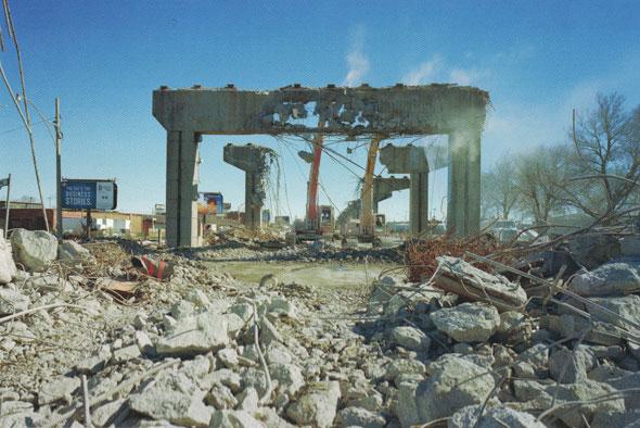toronto gardiner demolition