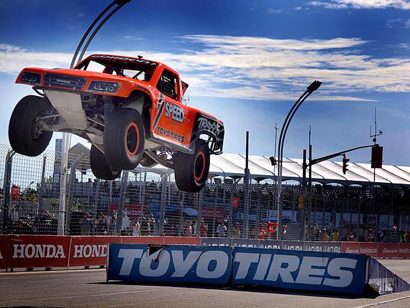 Stadium Super Truck jump