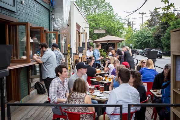 best restaurant patio toronto