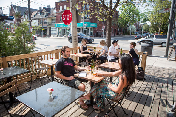 dundas west patio