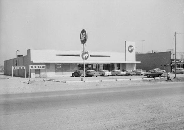 toronto A&P supermarket