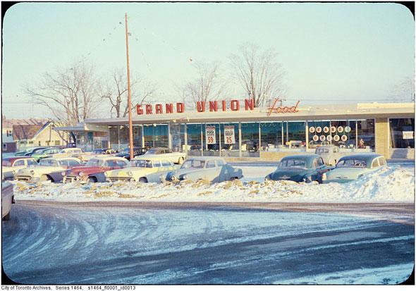 toronto grand union supermarket
