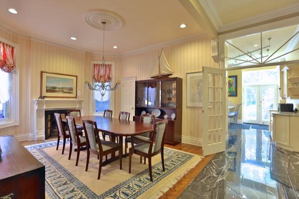 63 Admiral Road Toronto/><strong>NOTABLE FEATURES</strong><br /><ul><li>Approx. 3,500 square feet</li><li>Three-storeys</li><li>Stain glass windows</li><li>Crown mouldings & ceiling medallions</li><li>Built-in shelving</li><li>Marble fireplace</li><li>Private nanny's suite</li><li>Backyard patio</li><li>Rooftop garden</li></ul></p>  <p><img src=