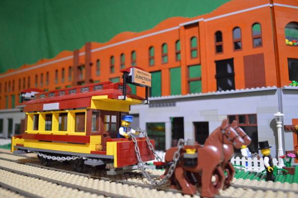 junction lego horse
