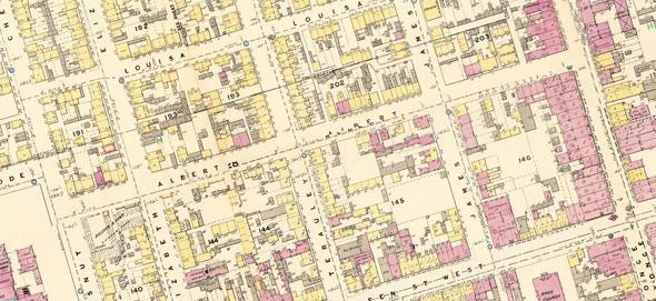 toronto albert street 1880