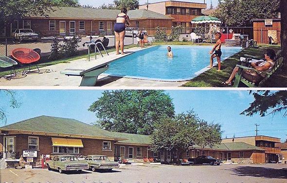 vintage motel toronto
