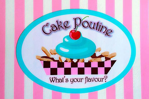 cake poutine
